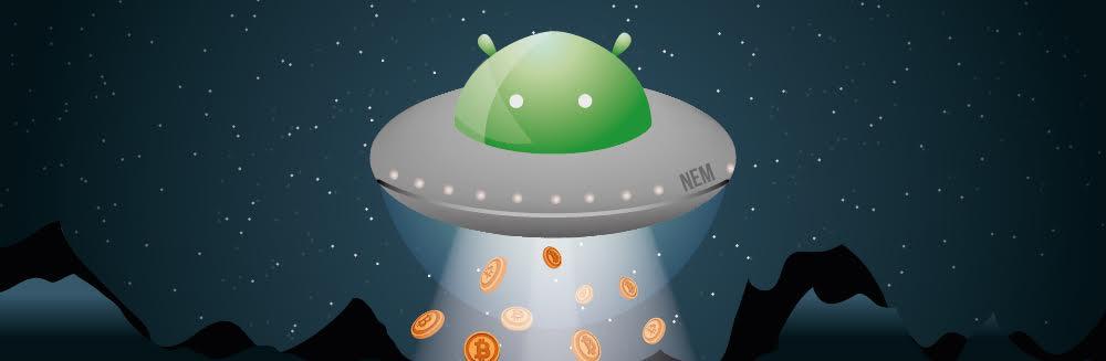 Криптовалютный кошелек NEM для ОС Android